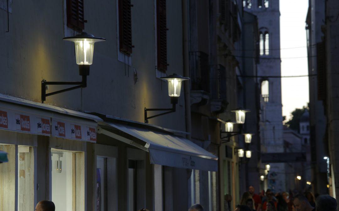 Zadarska županija: EU sredstvima modernizirana javna rasvjeta, ušteda preko 80 posto