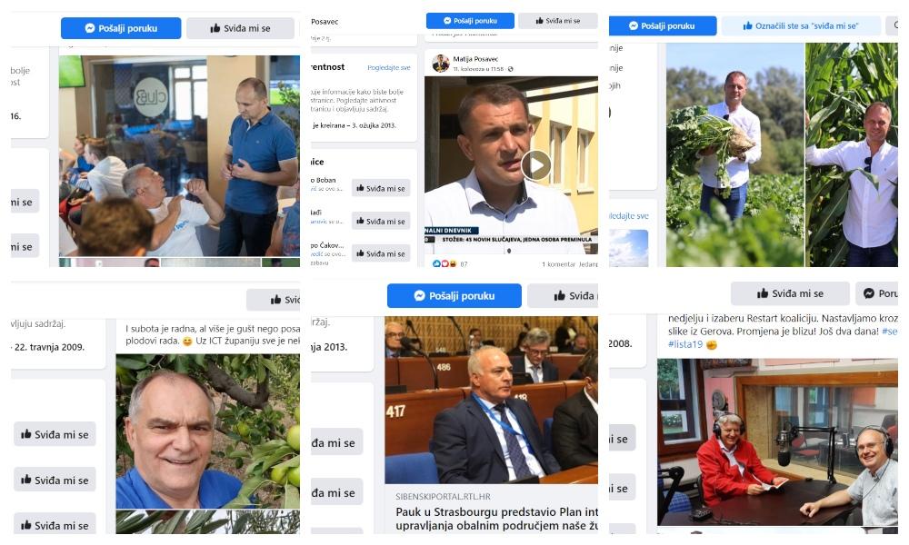 Anušić i dalje uvjerljivo najjači župan na FB-u, među najpopularnijima i Posavec, Andrović, Komadina, Pauk i Boban