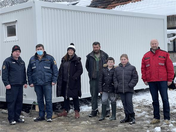 Krapinsko-zagorska županija kupila četiri stambena kontejnera za od potresa pogođena područja
