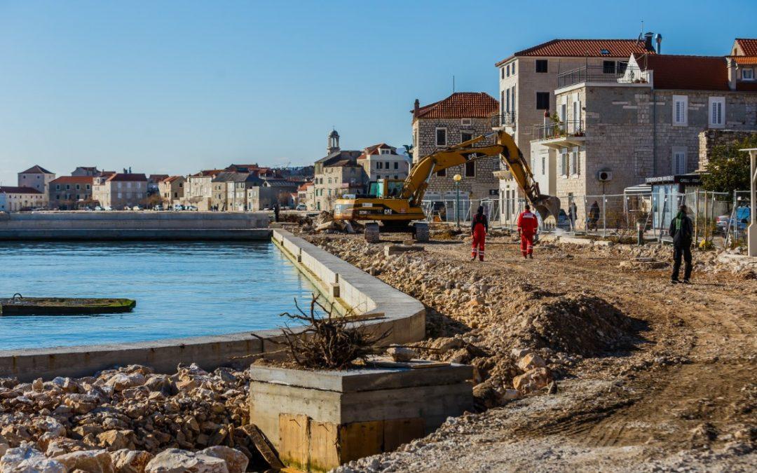 Splitsko-dalmatinska županija: U Kaštel Starom gradi se 50 milijuna kuna vrijedna lučica