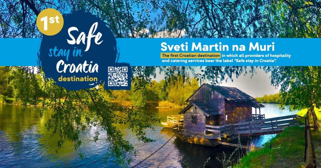 """Međimurska županija: Sveti Martin na Muri prva destinacija u RH sa """"Safe stay in Croatia"""" certifikatom"""