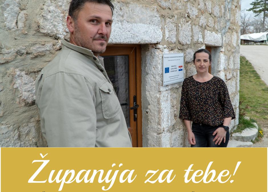 Splitsko-dalmatinska županija: Kroz projekt Županija za tebe odobreno 15,8 milijuna kuna potpora