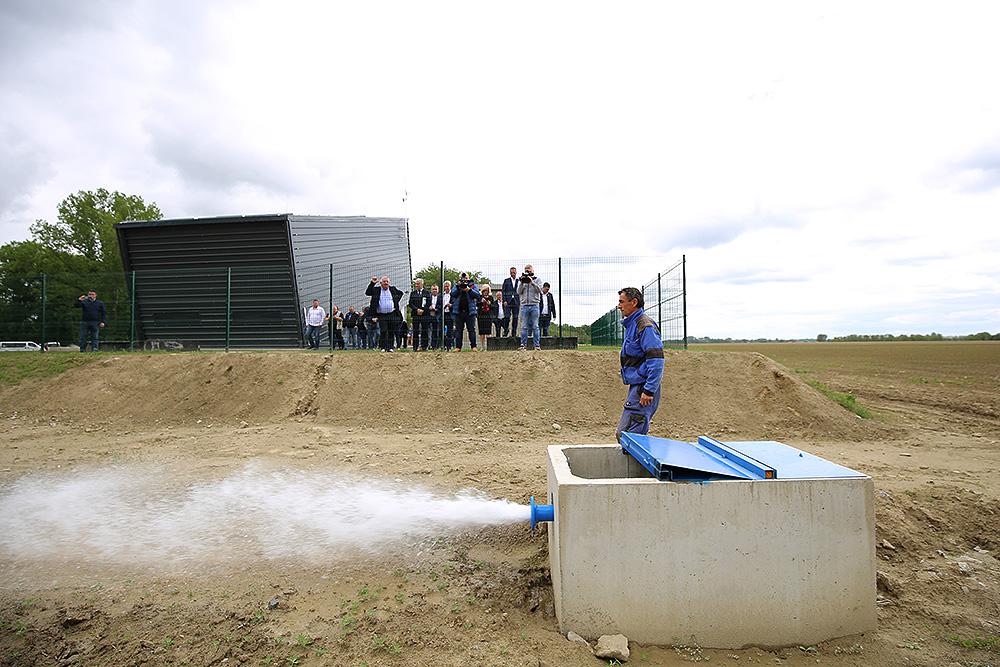 Virovitičko-podravska županija: Otvoren je sustav navodnjavanja Novi Gradac-Detkovac na površini od 750 ha
