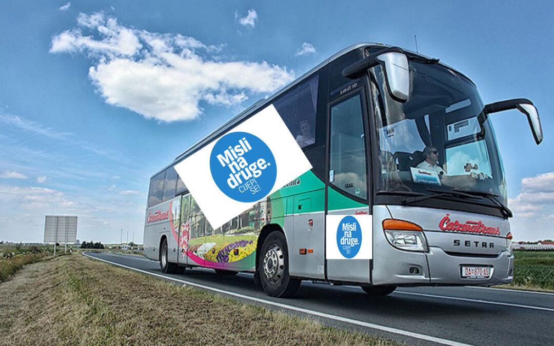 Uvode se Covid autobusi po županijama – cijepljenja u manjim naseljima počinju u Virovitičko-podravskoj županiji