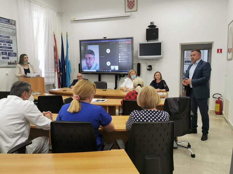 Vukovarsko-srijemska županija: Kroz EU projekt do boljeg i kvalitetnijeg rada bolnice u Vukovaru