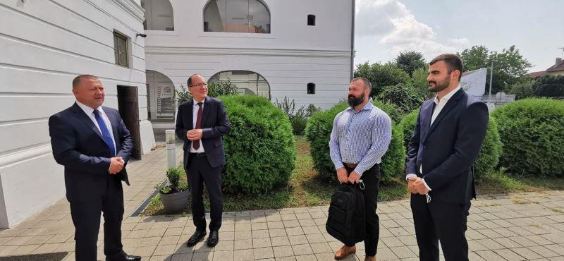 Vukovarsko-srijemsku županiju posjetio veleposlanik Kanade – velika investicija kanadskog Vermilion Energy u Županiju, suradnja moguća i na drugim područjima