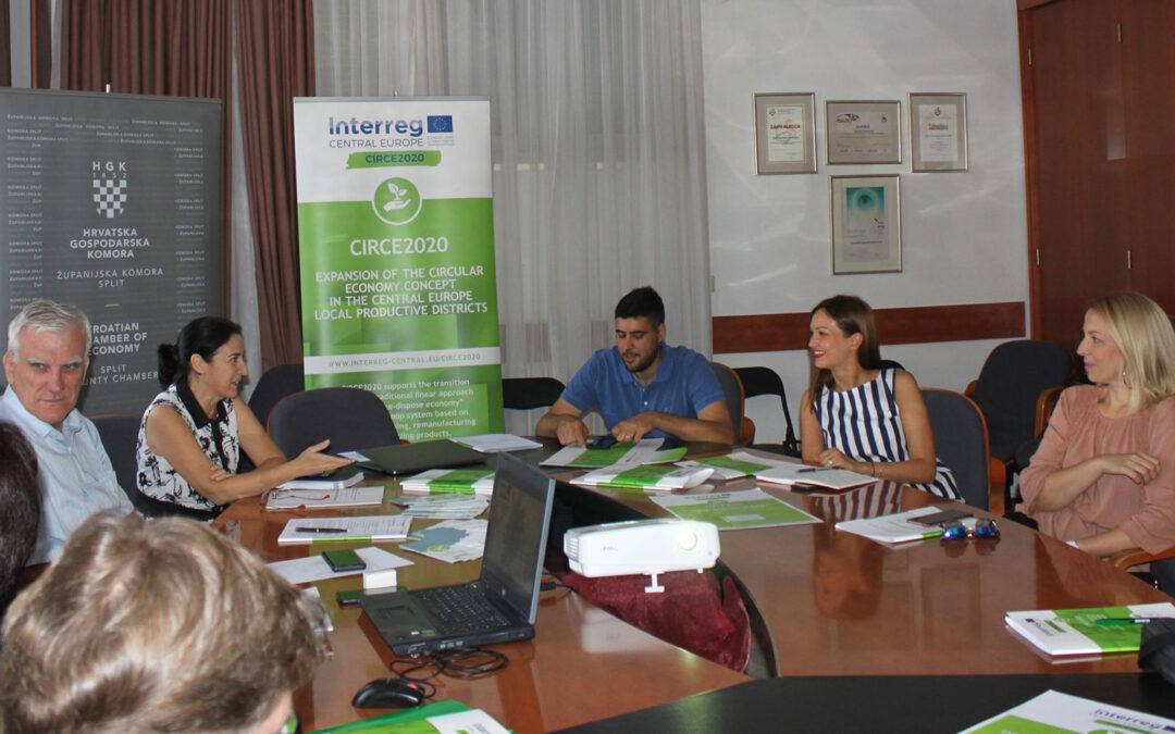 Splitsko-dalmatinska županija: CIRCE2020 – Poticanje kružnoga gospodarstva na Jadranskoj obali