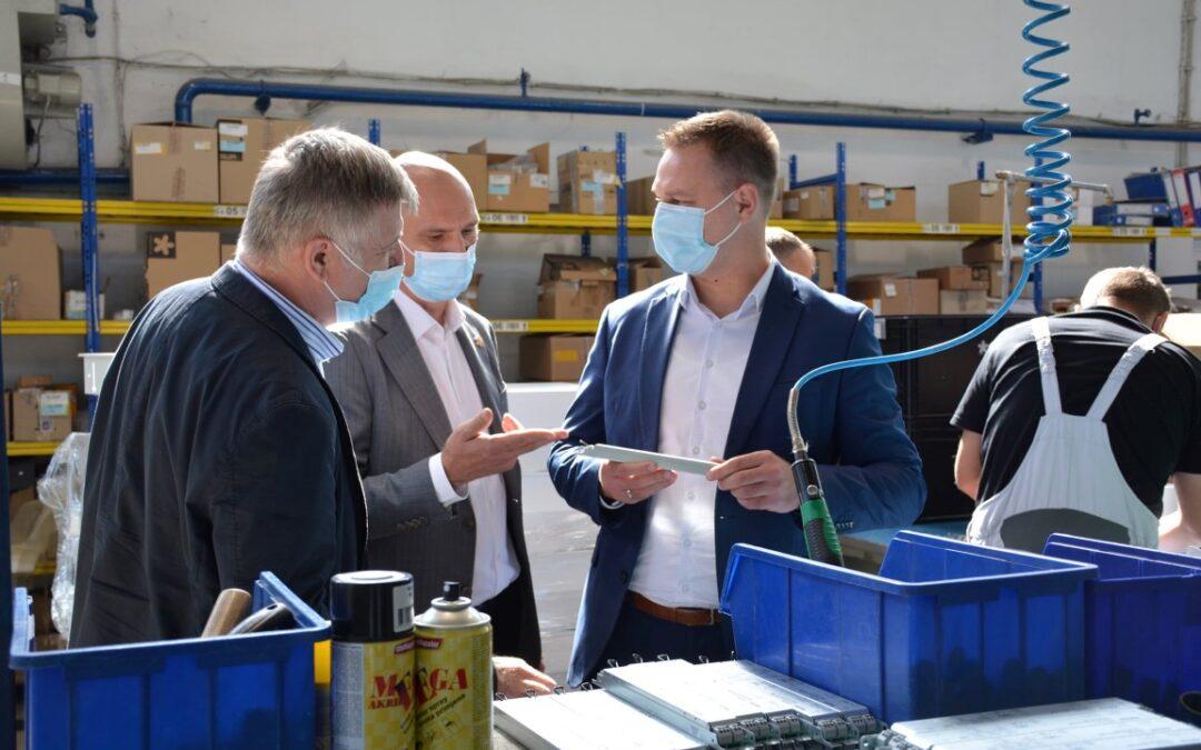 Bjelovarsko-bilogorska županija: Župan u posjetu tvrtki Intra Lighting