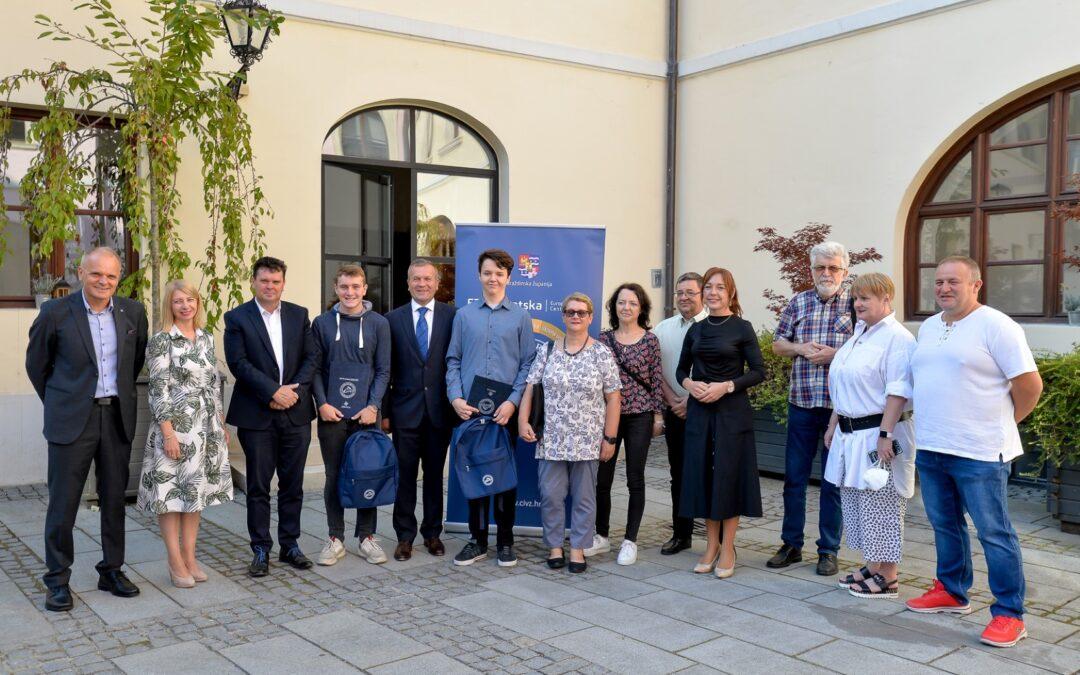 Varaždinska županija: Priznanje i novčane nagrade za nagrađene učenike na međunarodnim natjecanjima