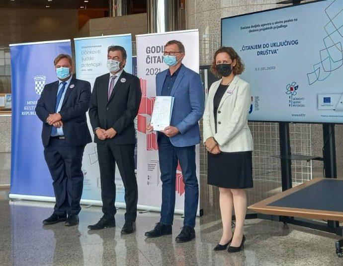 Virovitičko-podravska županija: Počinje projekt Potrubi za knjigu vrijednosti 2,5 milijuna kuna – bibliokombijem do ruralnih krajeva