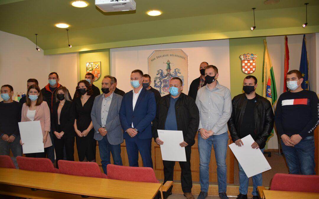 Bjelovarsko-bilogorska županija: Dodijeljene diplome za 16 majstora – broj obrta u Županiji raste